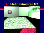 a licht animieren 213