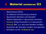 a material animieren 318