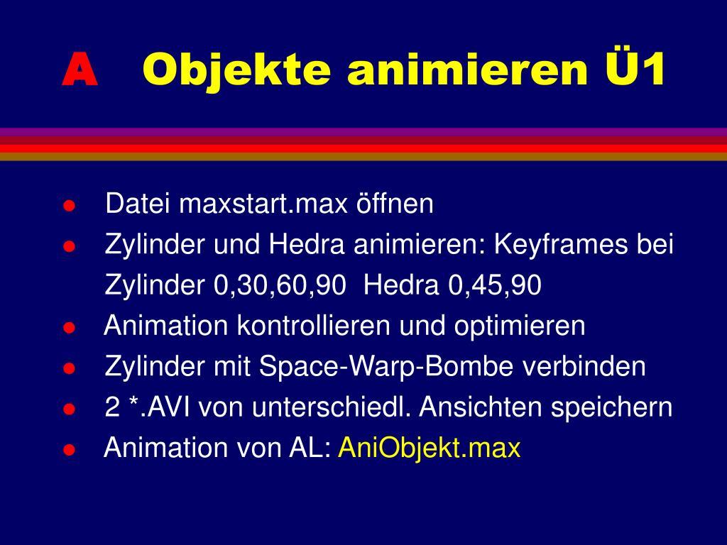 Datei maxstart.max öffnen