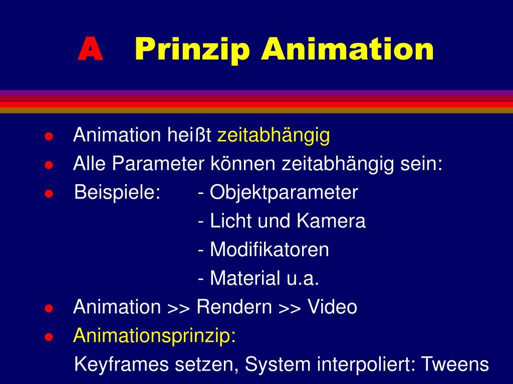 Animation heißt