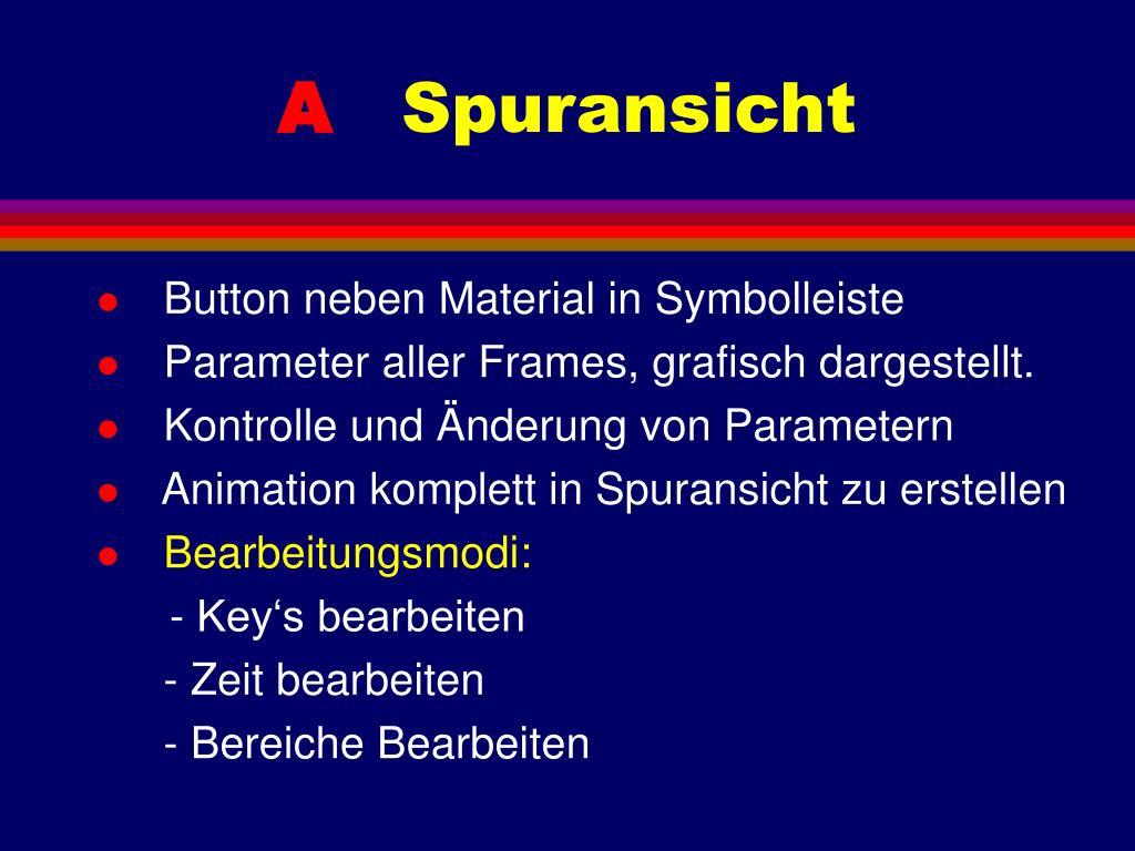 Button neben Material in Symbolleiste
