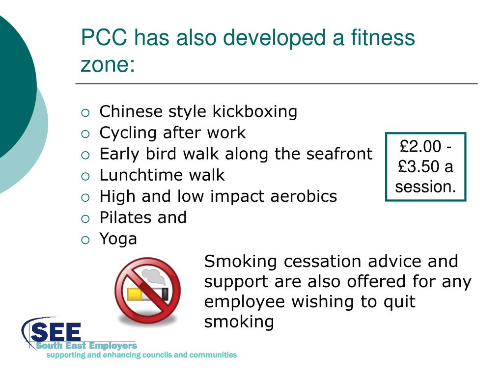 PCC has also developed a fitness zone: