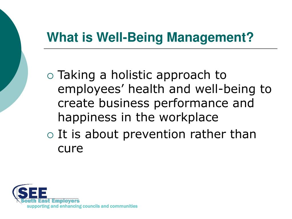 What is Well-Being Management?