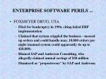 enterprise software perils24
