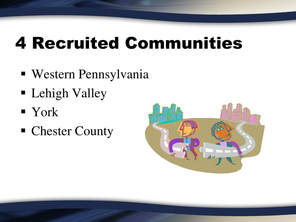 4 Recruited Communities
