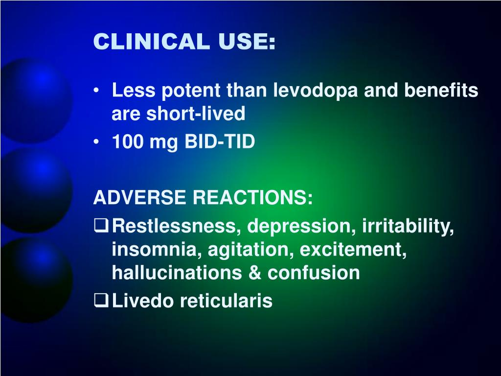 CLINICAL USE: