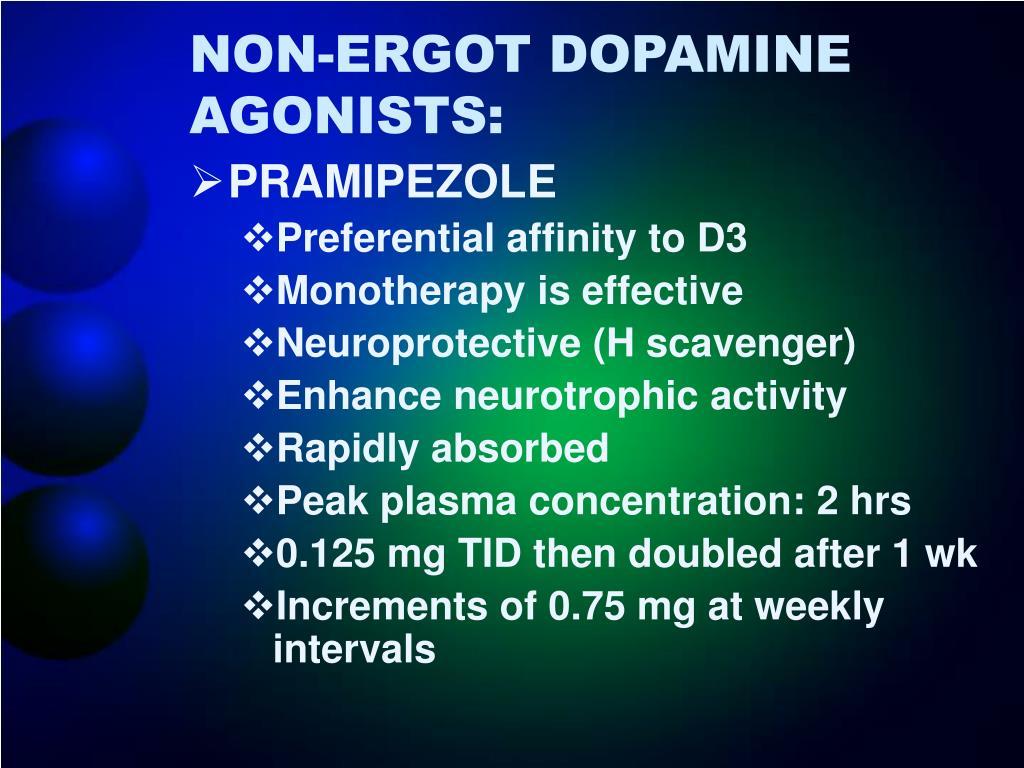 NON-ERGOT DOPAMINE AGONISTS: