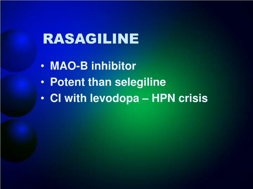 RASAGILINE