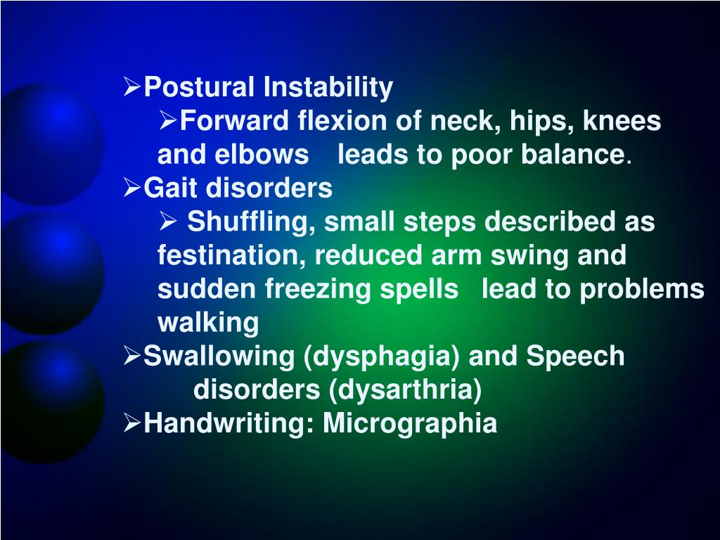Postural Instability