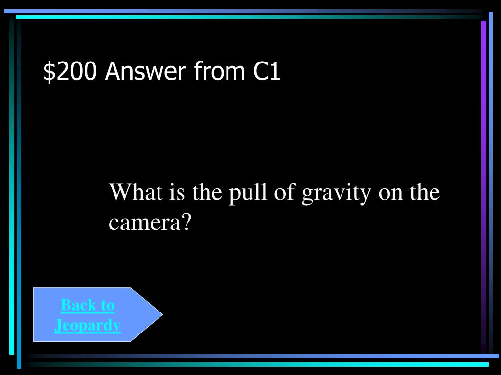 $200 Answer from C1