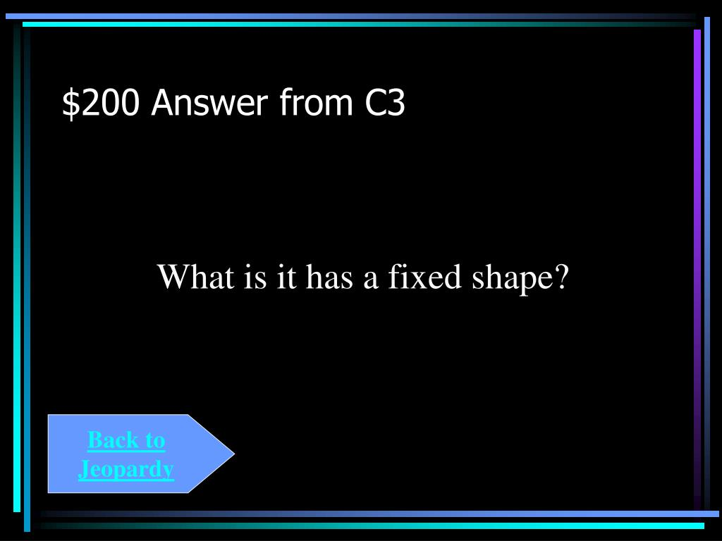 $200 Answer from C3