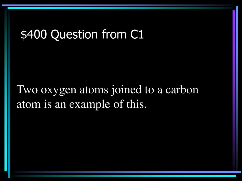 $400 Question from C1