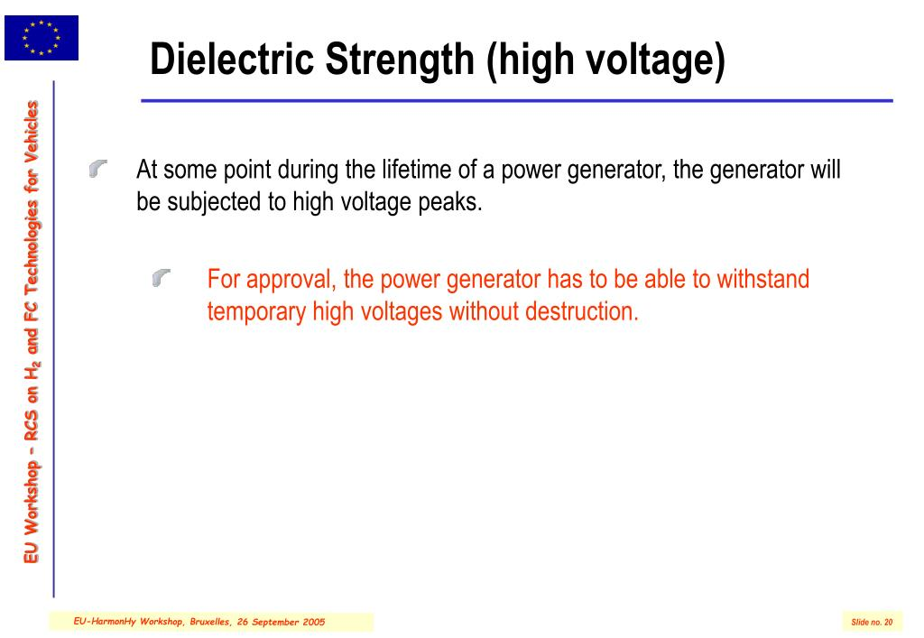 Dielectric Strength (high voltage)