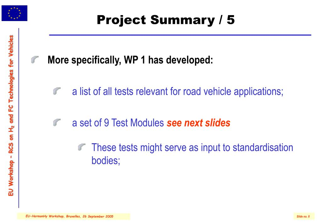 Project Summary / 5