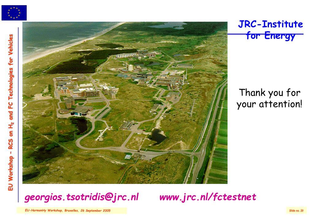 JRC-Institute for Energy