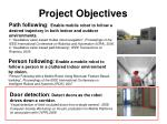 project objectives36