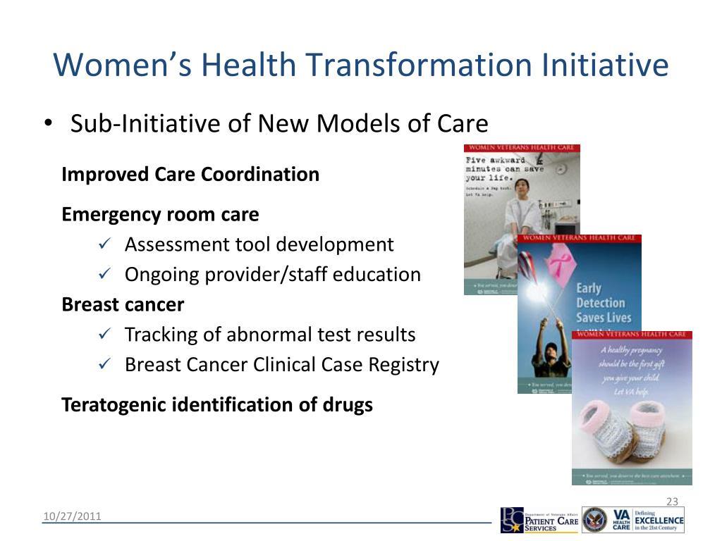 Women's Health Transformation Initiative