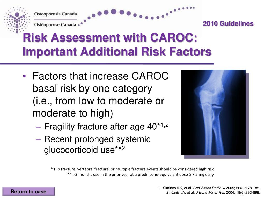 Risk Assessment with CAROC: