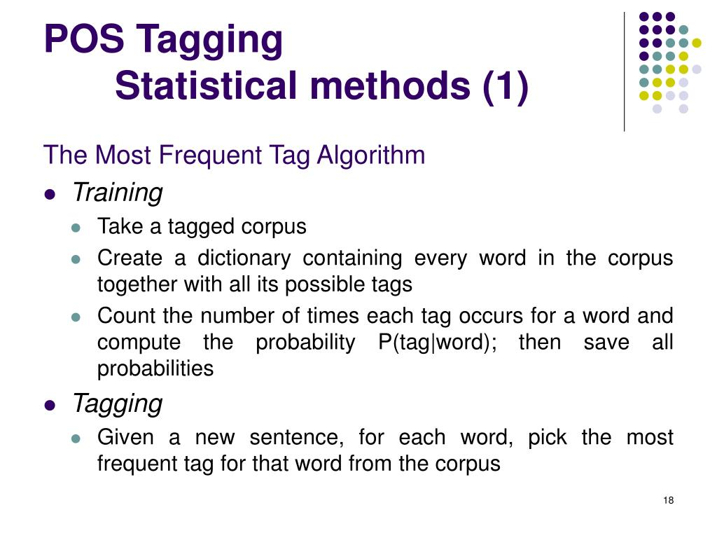 POS Tagging
