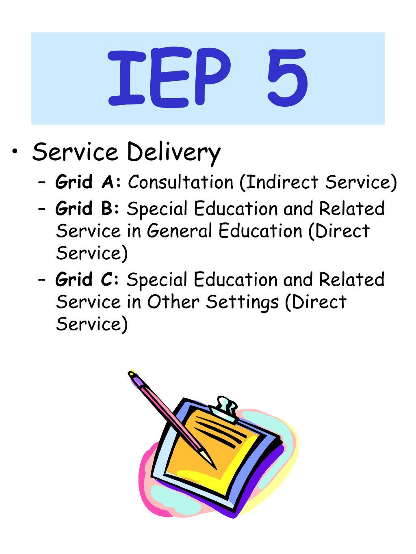 IEP 5