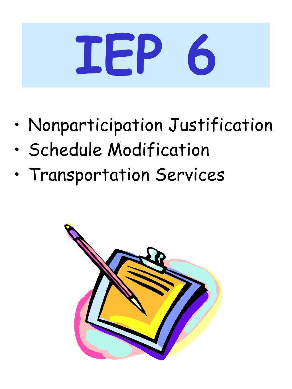 IEP 6