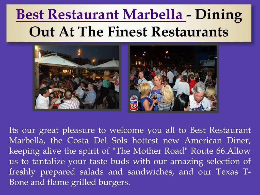 Best Restaurant Marbella