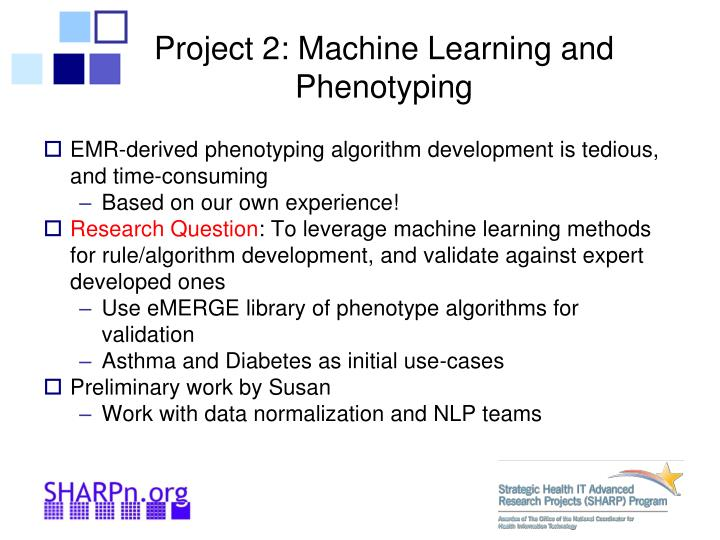 Project 2: Machine Learning and