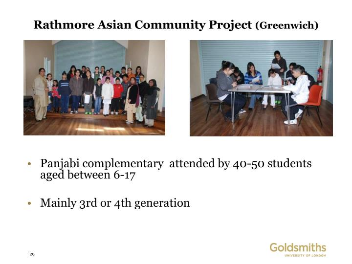 Rathmore Asian Community Project