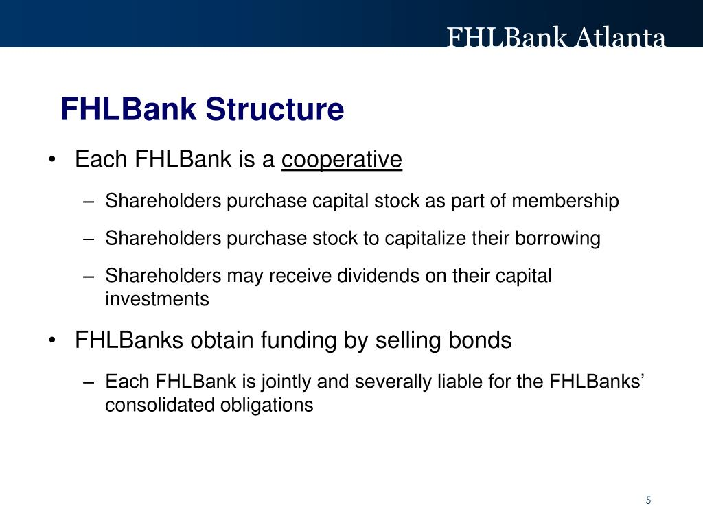 FHLBank Structure