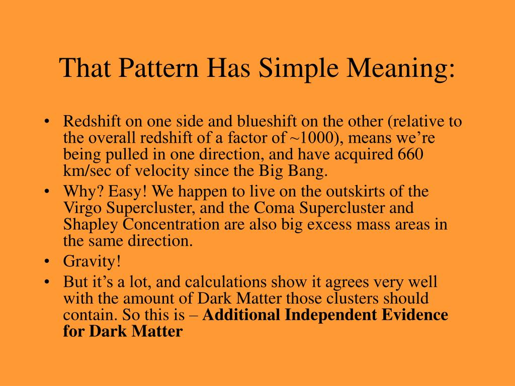 That Pattern Has Simple Meaning: