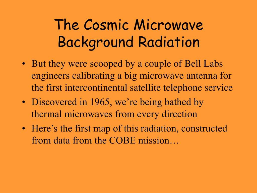 The Cosmic Microwave Background Radiation