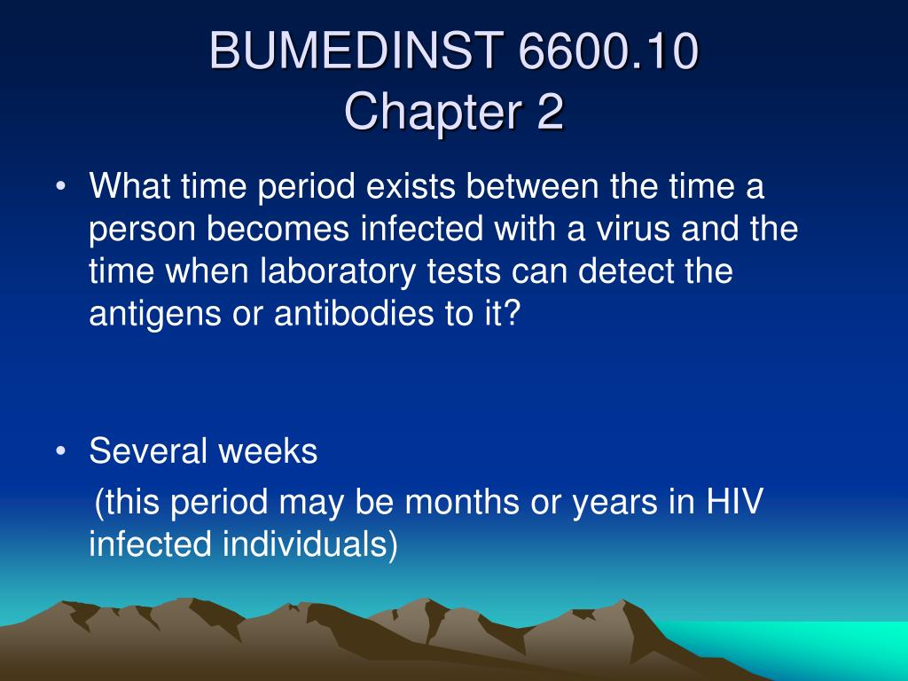 What time period exists between the time a person becomes infected with a virus and the time when laboratory tests can detect the antigens or antibodies to it?