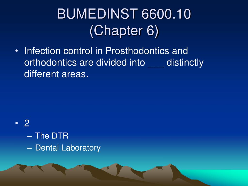 Infection control in Prosthodontics and orthodontics are divided into ___ distinctly different areas.