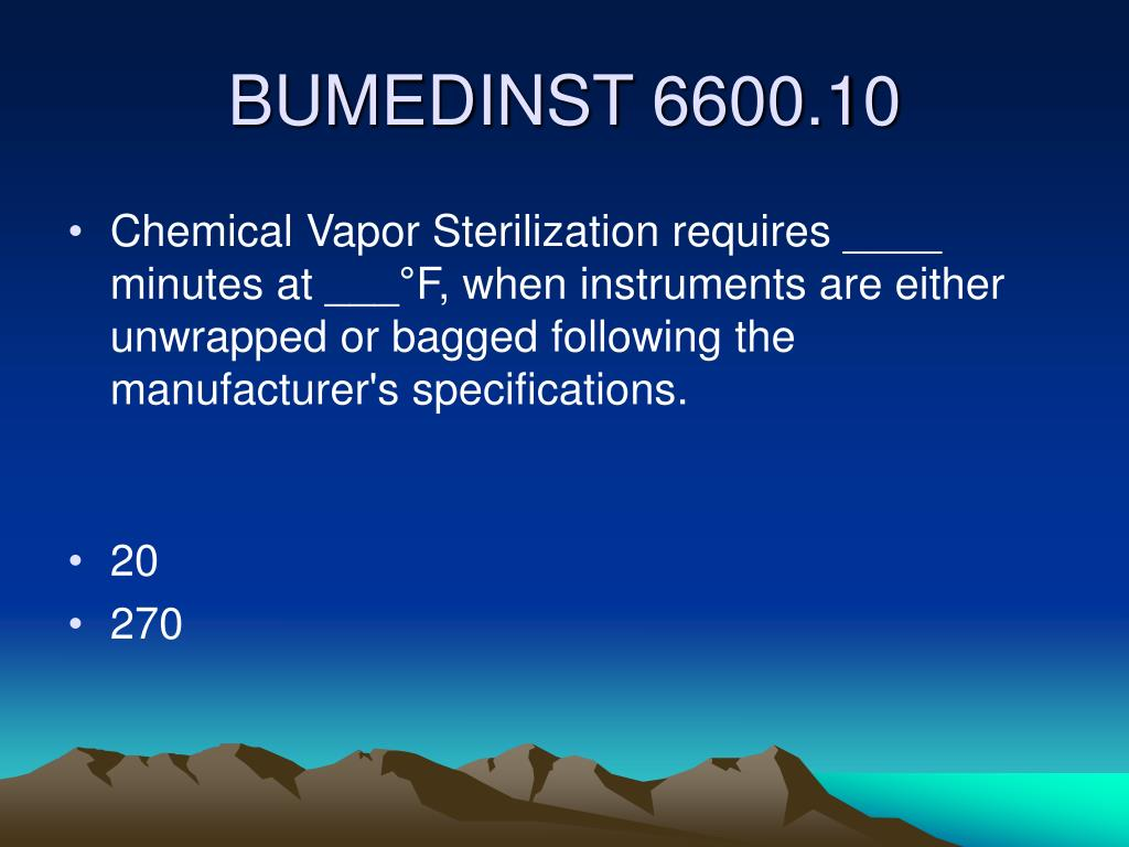 Chemical Vapor Sterilization requires ____ minutes at ___°F, when instruments are either unwrapped or bagged following the manufacturer's specifications.