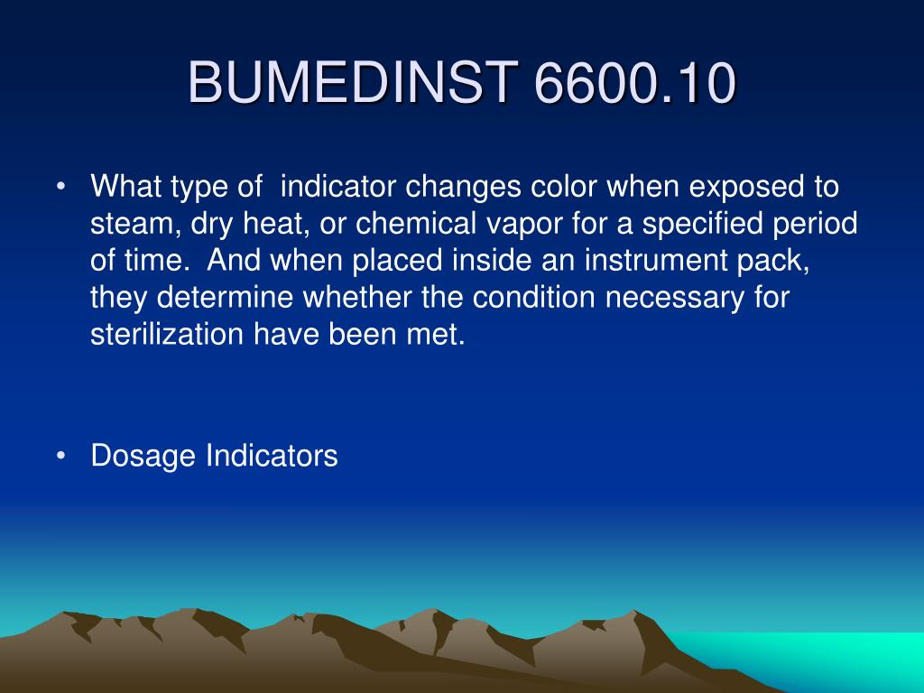 What type of  indicator changes color when exposed to steam, dry heat, or chemical vapor for a specified period of time.  And when placed inside an instrument pack, they determine whether the condition necessary for sterilization have been met.