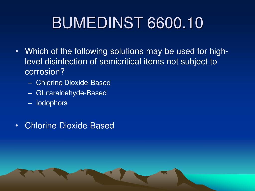 Which of the following solutions may be used for high-level disinfection of semicritical items not subject to corrosion?