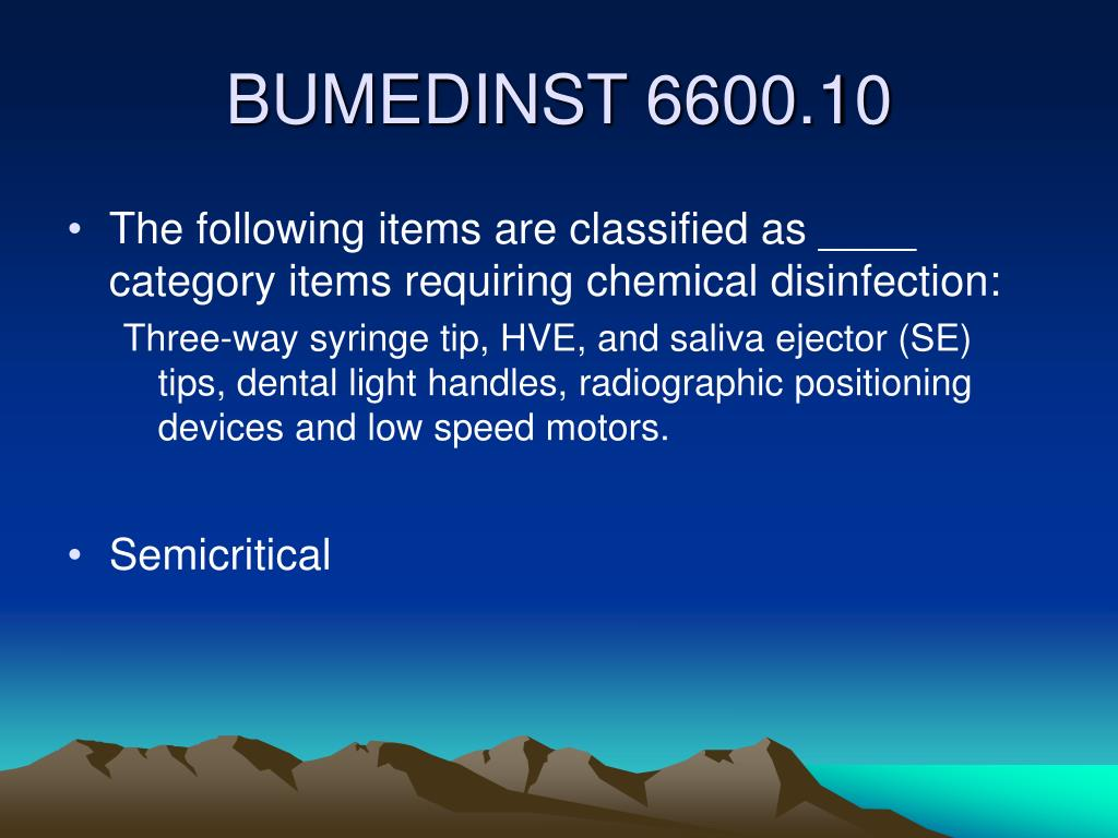 The following items are classified as ____ category items requiring chemical disinfection: