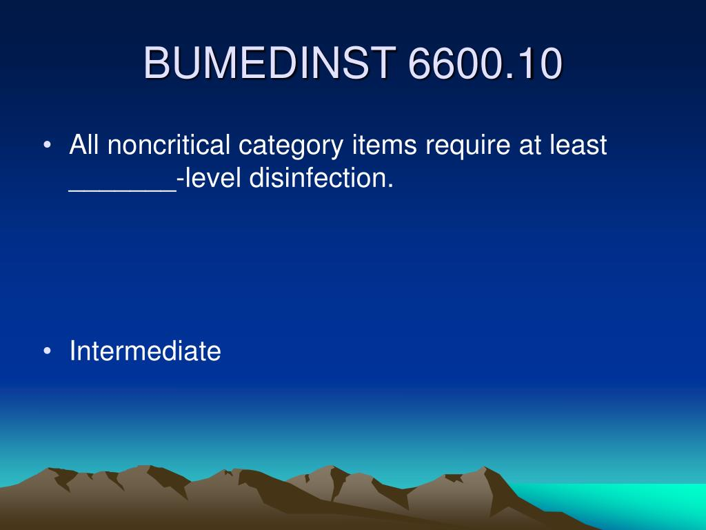 All noncritical category items require at least _______-level disinfection.