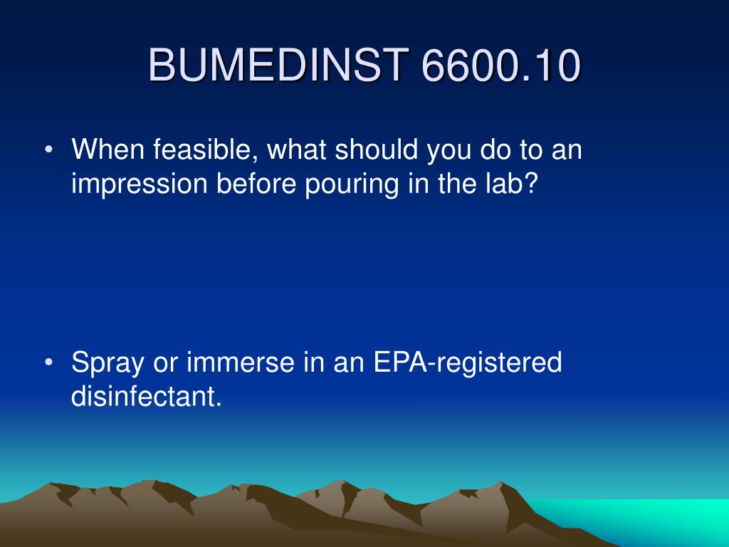 When feasible, what should you do to an impression before pouring in the lab?