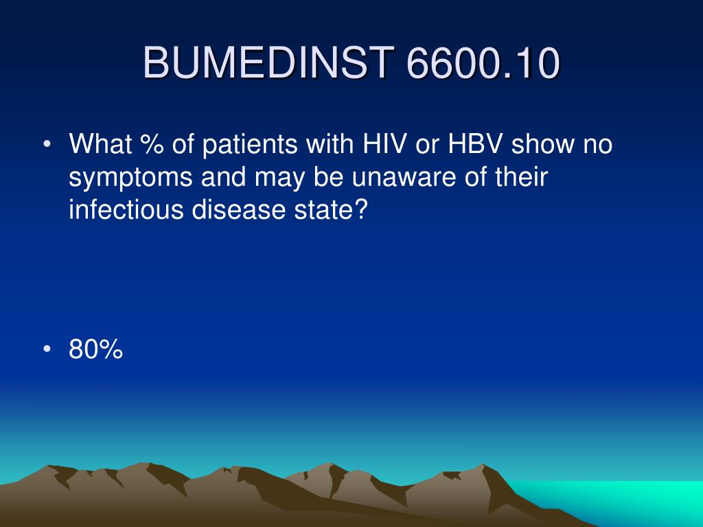 What % of patients with HIV or HBV show no symptoms and may be unaware of their infectious disease state?