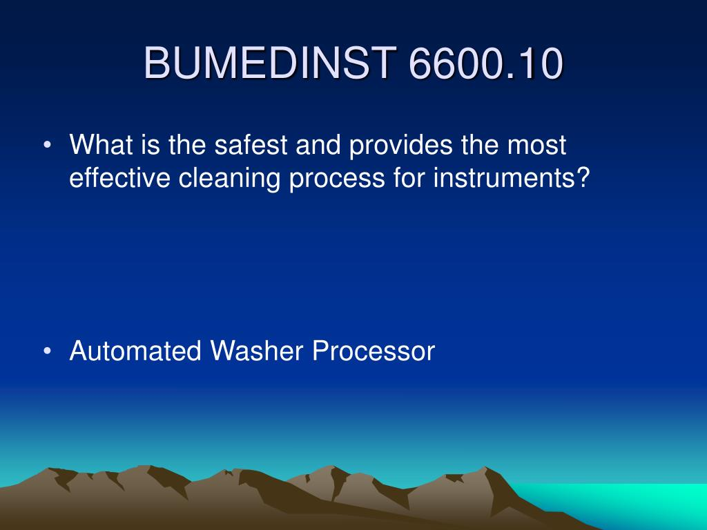 What is the safest and provides the most effective cleaning process for instruments?