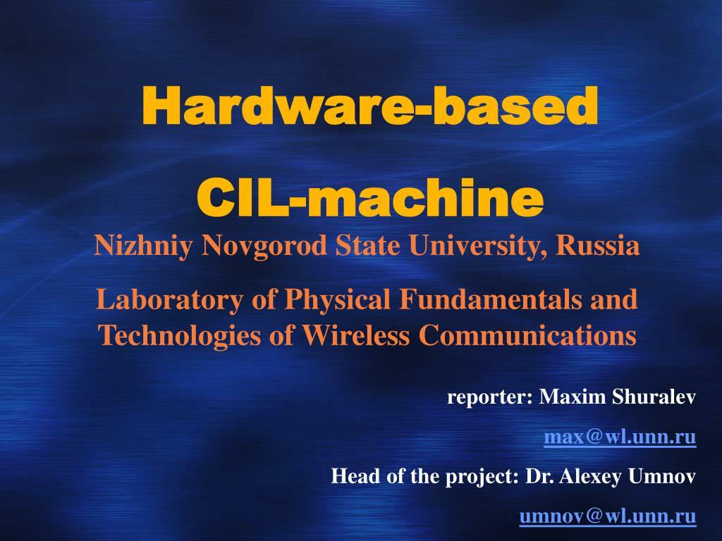 Hardware-based