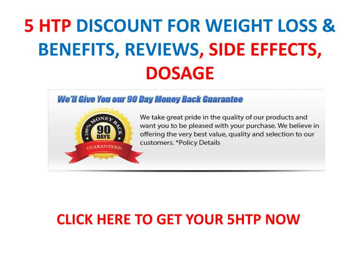 5 htp discount for weight loss benefits reviews side effects dosage
