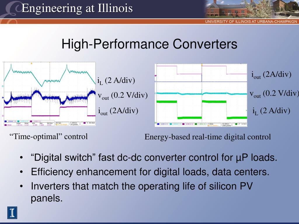 High-Performance Converters