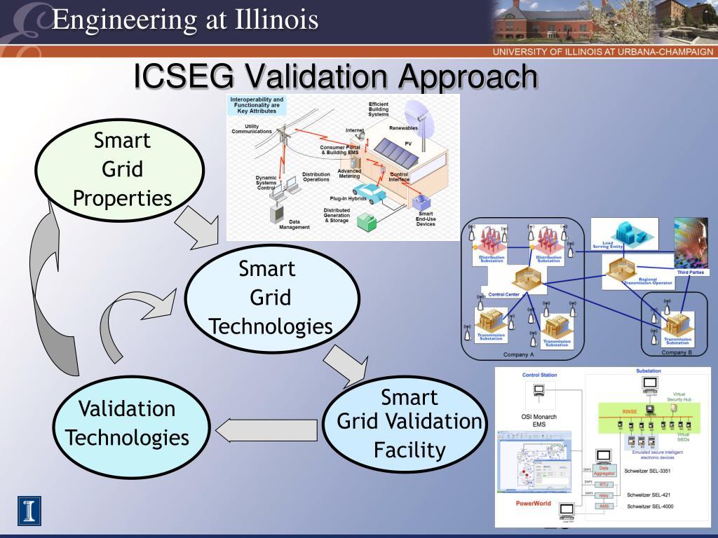 ICSEG Validation Approach