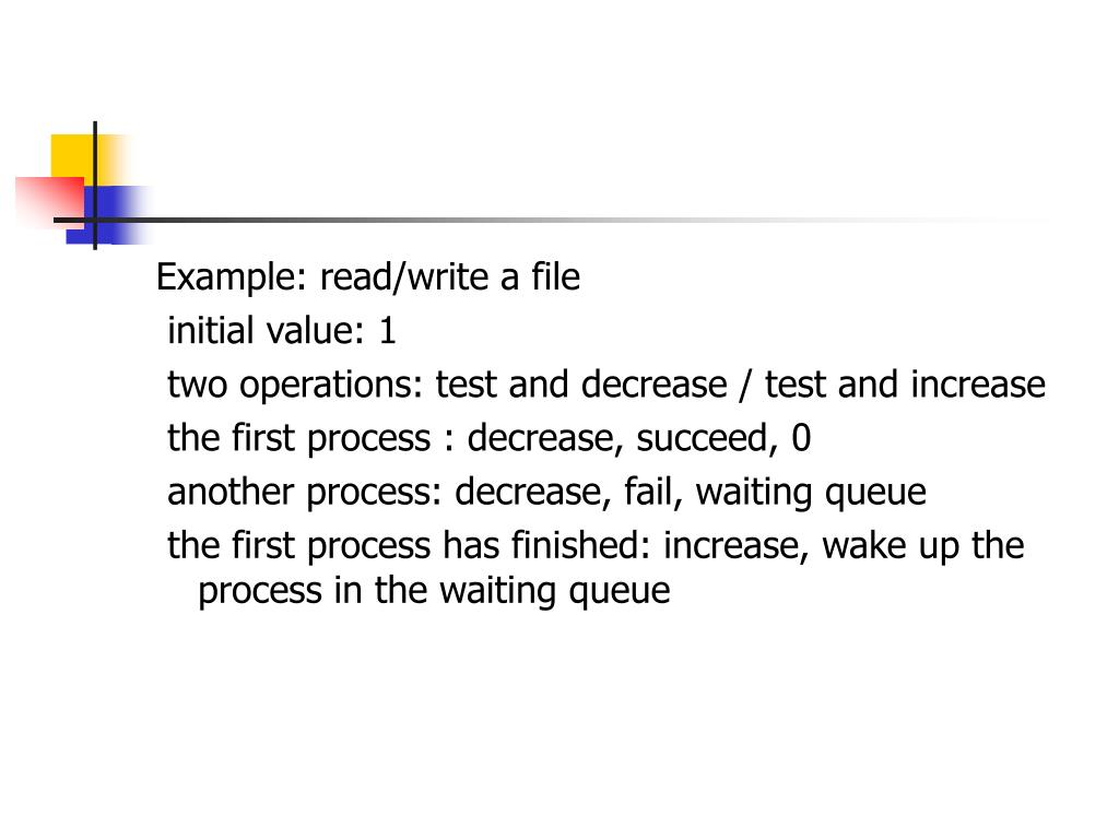 Example: read/write a file