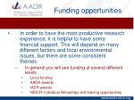funding opportunities1