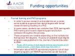 funding opportunities5