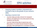srg activities1