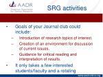 srg activities2